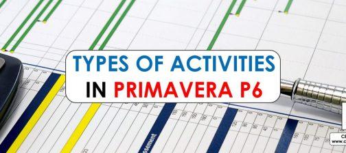 types of activities