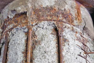 corrosion of steel