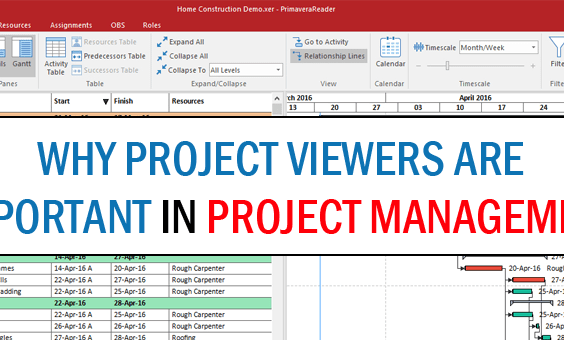 Project Scheduling Viewer Importance - Project Viewers