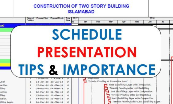 schedule presentation